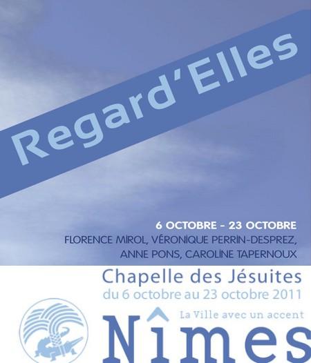 """Exposition """"Regard'elles"""" du 6 octobre au 23 octobre 2011"""